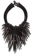 eskandar Multi-Strand Carved Necklace