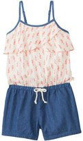 Roxy Girls' Rip Current Ruffle Romper (7yrs16yrs) - 8136311