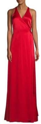 Diane von Furstenberg Sleeveless V-Neck Gown