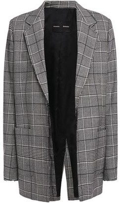 Proenza Schouler Prince Of Wales Checked Stretch-wool Blazer