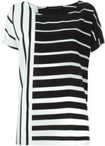 Alexandre Vauthier graphic print blouse - women - Silk - 36