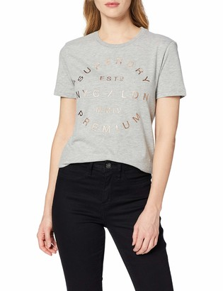 Superdry Women's NYC Studio Foil Entry Tee T-Shirt