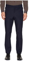 Versace Solid Trousers Men's Casual Pants