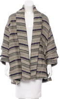 Yigal Azrouel Oversize Patterned-Knit Cardigan