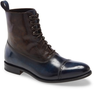 Ike Behar Edge Cap Toe Boot