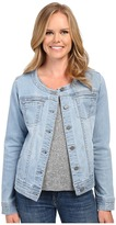 Liverpool Denim Collarless Lightweight Jean Jacket