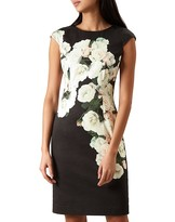 Hobbs London Eleanor Floral-Print Dress
