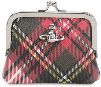 Vivienne Westwood Emma Coated Canvas Coin Purse