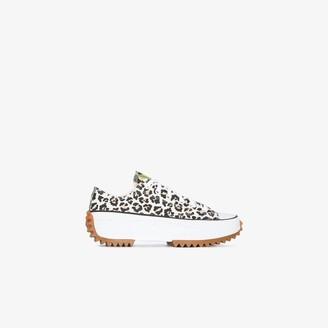 Converse Black Multicoloured Run Star Hike Low Top Sneakers