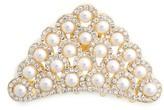 Tasha Crystal & Imitation Pearl Jaw Clip