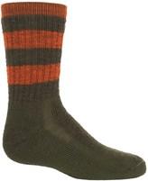 Smartwool Striped Hike Medium Socks - Merino Wool, Crew (For Big Kids)