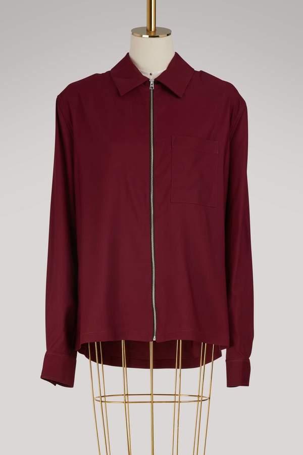 Ami Zipped overshirt