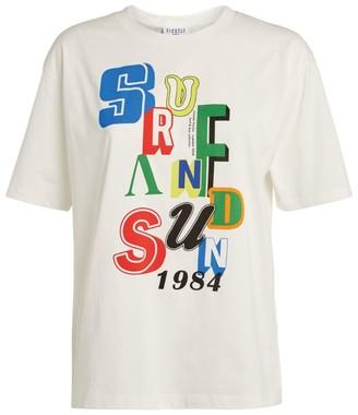 Claudie Pierlot Cotton Graphic T-Shirt