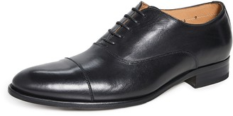 To Boot Forley Flex Black Cap Toe Shoes