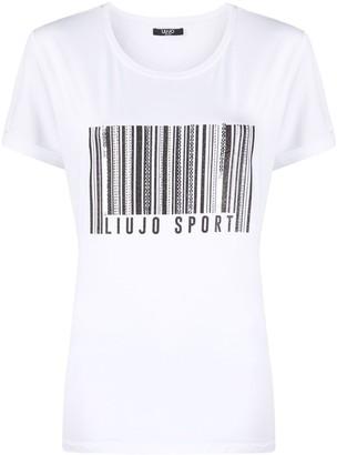 Liu Jo bar code T-shirt