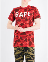A Bathing Ape Camouflage ape-print cotton-jersey T-shirt