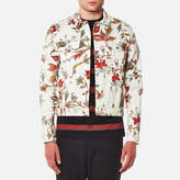 McQ Men's Billy Floral Jacket Parchment