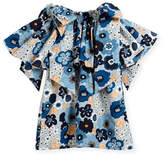 Chloé Mini Me Floral Bow-Shoulder Dress, Sizes 4-5