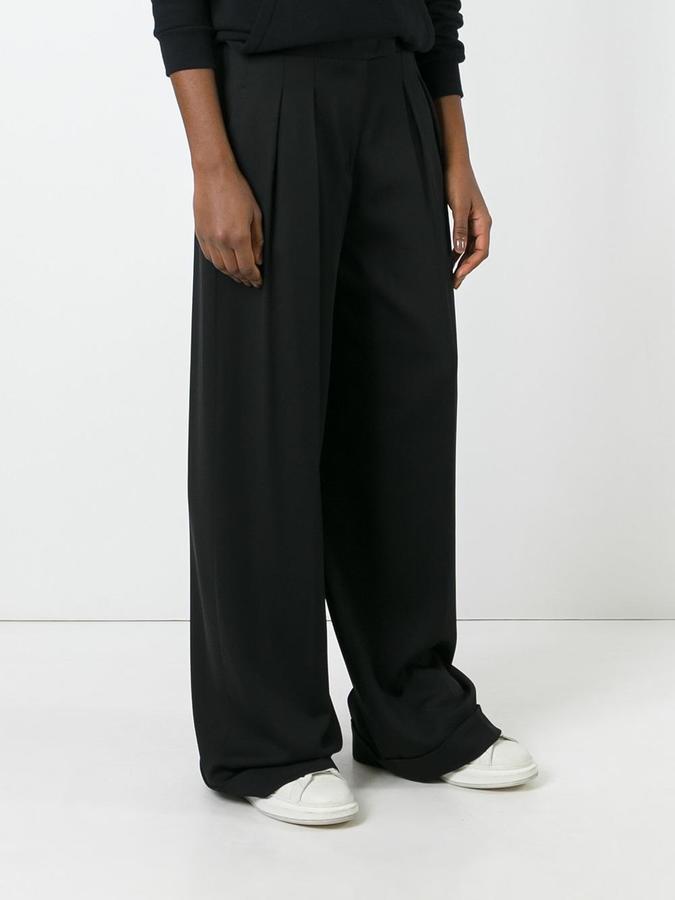 Donna Karan wide leg trousers