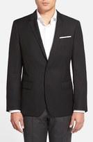 BOSS Men's Hutch Trim Fit Wool Blazer