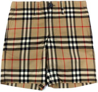 Burberry Beige Cotton Tristen Shorts