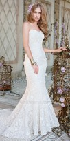 Camille La Vie Lace Trumpet Wedding Dress