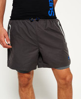 Superdry Sports Active Double Layer Shorts