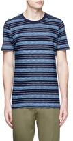 Denham Jeans 'Signature' stripe cotton T-shirt