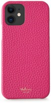 Thumbnail for your product : Mulberry iPhone 12 Case Pink Heavy Grain