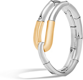 John Hardy Women's Bamboo 21MM Cuff in Sterling Silver and 18K Gold