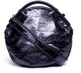 A-Esque 'Petal Miniature' colourblock metallic leather bag