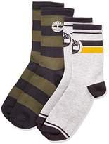 Timberland Boy's T20327 Socks (2) Knee-High Socks