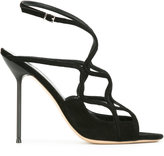 Giorgio Armani strappy stiletto sandals - women - Leather/Suede - 36