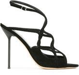 Giorgio Armani strappy stiletto sandals