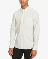 Kenneth Cole Reaction Men's Slim-Fit Micro-Star Long-Sleeve Shirt