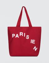 MAISON KITSUNÉ Parisien Tote Bag