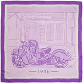 Delali Luxury Twill Silk 1946 Indian Chief Scarf