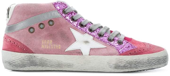 Golden Goose Pink Star Sneakers