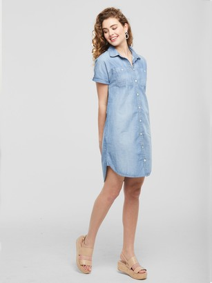 ABLE The Adriana Chambray Dress