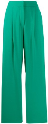Parker Chinti & high-waisted trousers