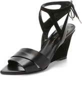 Narciso Rodriguez Carolyn Wedge Sandals