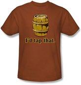 Funny Tees - Mens I'D Tap That T-Shirt