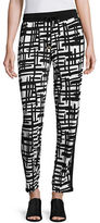 I.N.C International Concepts Relax Print Pants with Drawstring