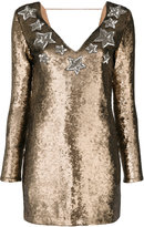 Just Cavalli sequined star dress