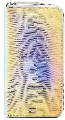 Giuseppe Zanotti Iridescent Effect Continental Wallet