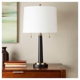 Threshold Window Table Lamp Table Lamp - Ebony (Includes CFL Bulb