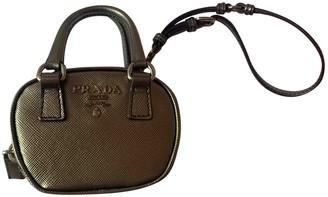 Prada Metallic Leather Handbags