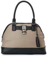 Nine West Mushroom Pop Lock Dome Satchel