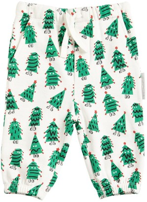Stella McCartney Kids Trees Printed Interlock Sweatpants