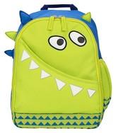 "Circo 13.5"" Monster Figural Kids Backpack Green"